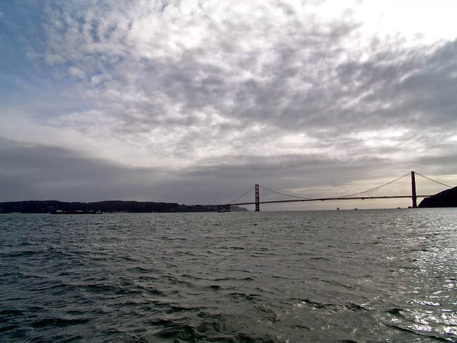A Cloudy View of the Golden Gate