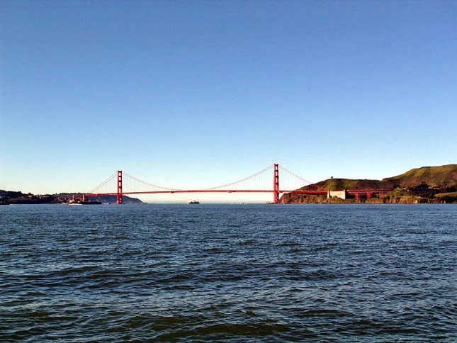 A Sunny View of the Golden Gate