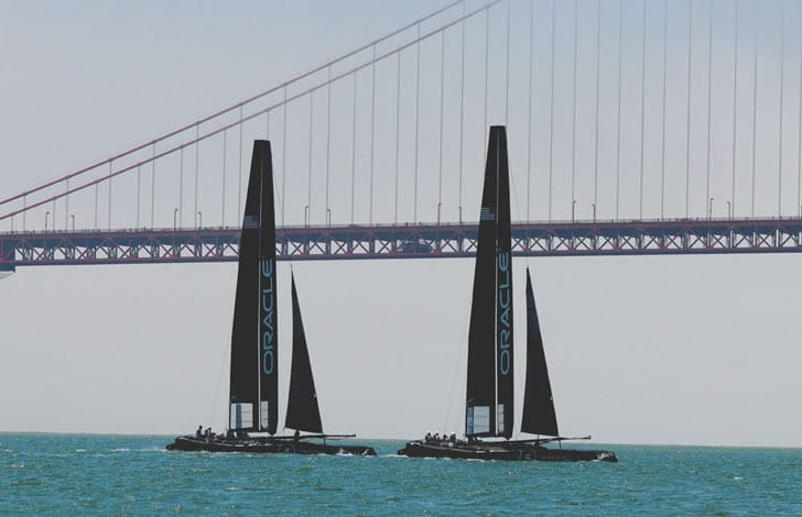 AC45s at the Golden Gate Oracle