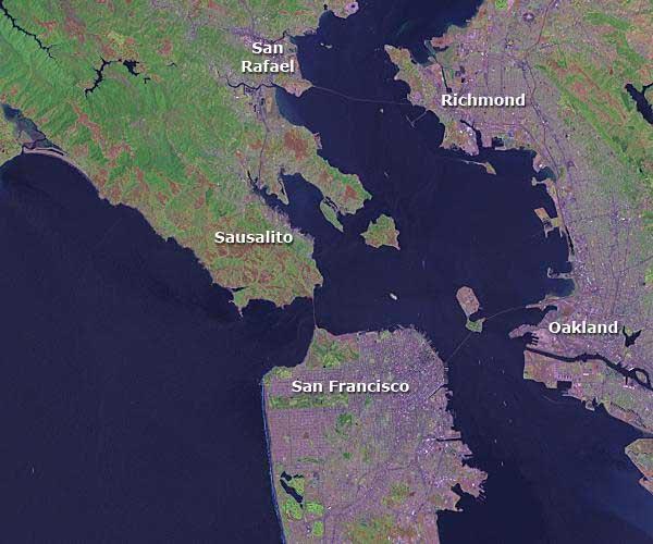 AIS Central San Francisco Bay