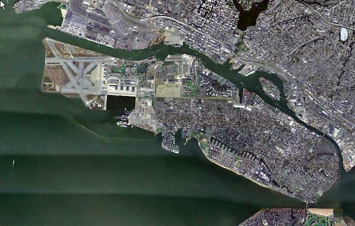 Alameda Aerial View