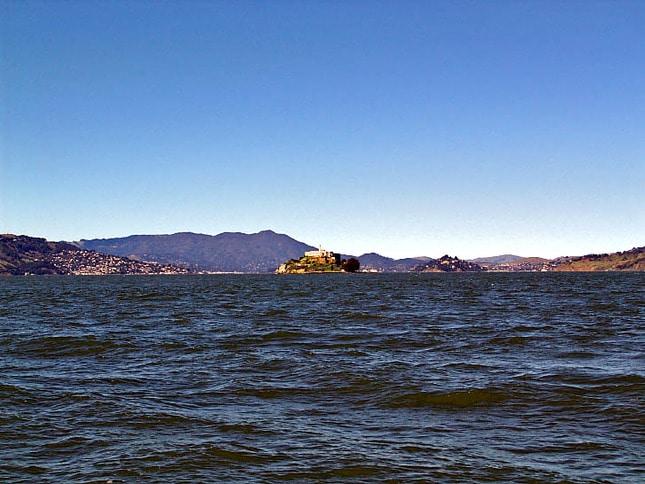 Alcatraz and Mt. Tam