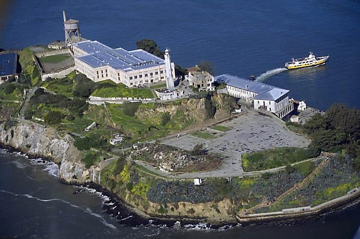 Alcatraz from the Air