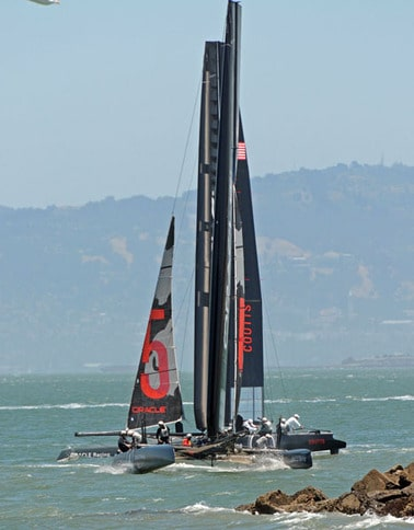 America's Cup AC45 at San Francisco
