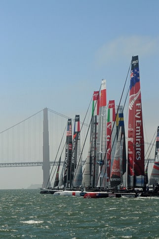 America's Cup World Series Starting Line