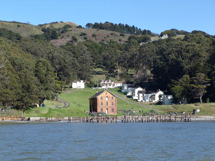 Angel Island from the water