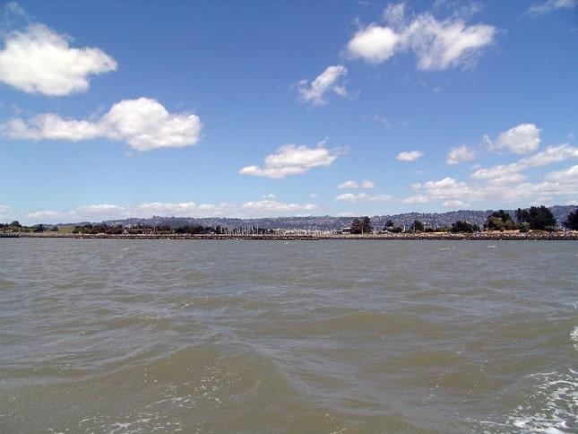 Approaching the Berkeley Marina