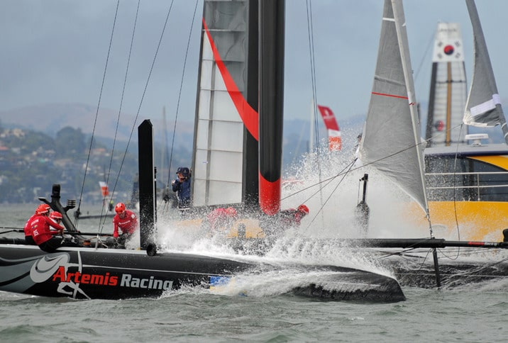 Artemis Racing on San Francisco Bay