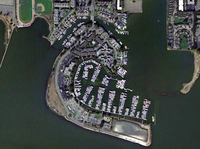 Ballena Isle Marina Aerial View