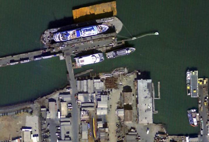 Bay Ship and Yacht Shipyard