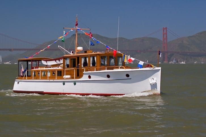Beautiful Classic Motoryacht