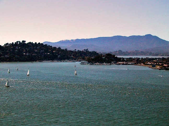 Belvedere and Tiburon from Angel Island