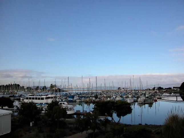 Berkeley Marina at Dusk