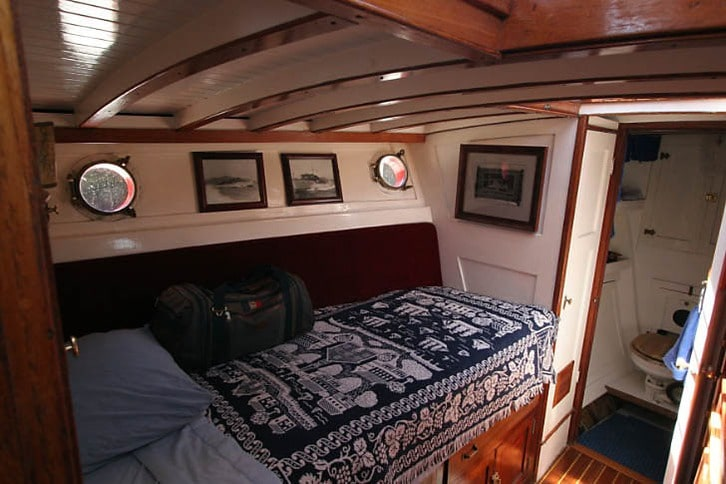 Berth in a Classic Stephens Yacht