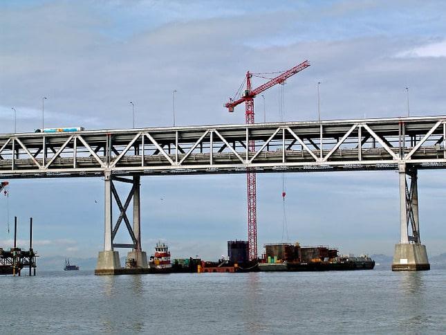 Building a New Bridge Pier