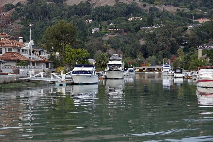 Canal-Front Homes in San Rafael