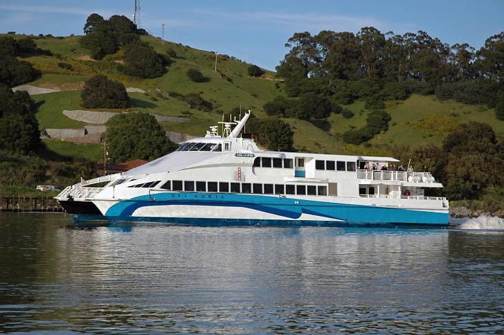 Catamaran Ferry 'Del Norte'