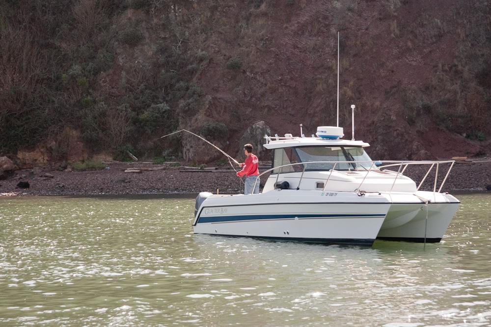 Fishing Near Red Rock Island