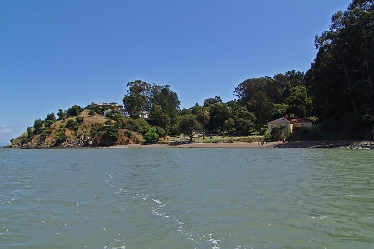 China Cove on Angel Island