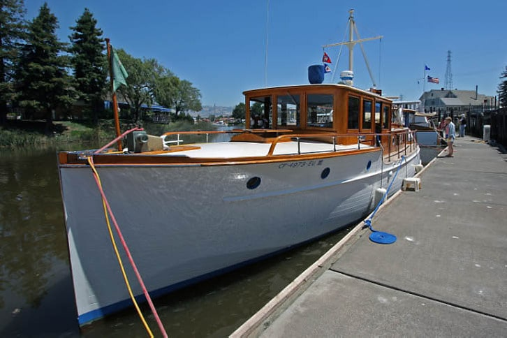 Cielito, a 43-foot Stephens Built in 1930
