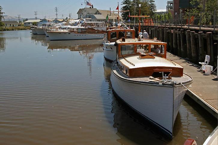 Classic Motoryachts Docked
