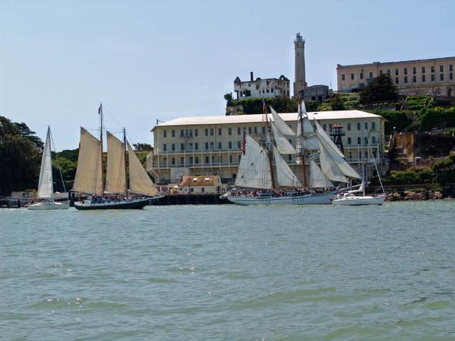 Classic Sail at Alcatraz