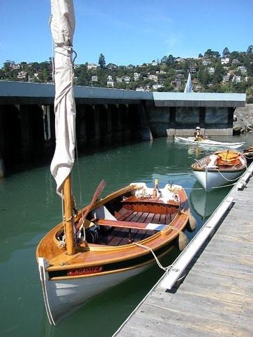 Classic Wood Catboat
