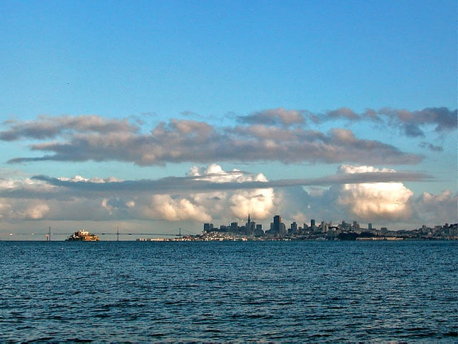 Clearing Storm Over San Francisco