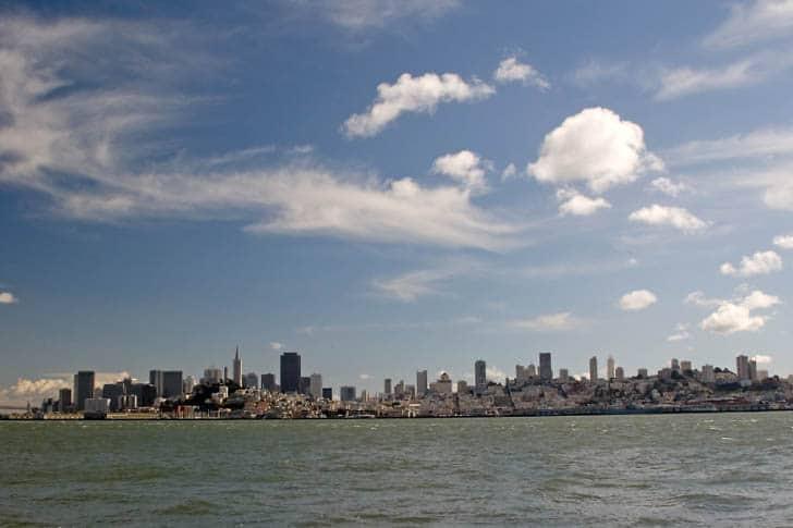 Cloud Show Over San Francisco