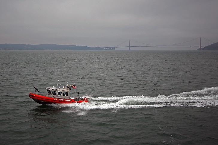 Coast Guard on Homeland Security Detail
