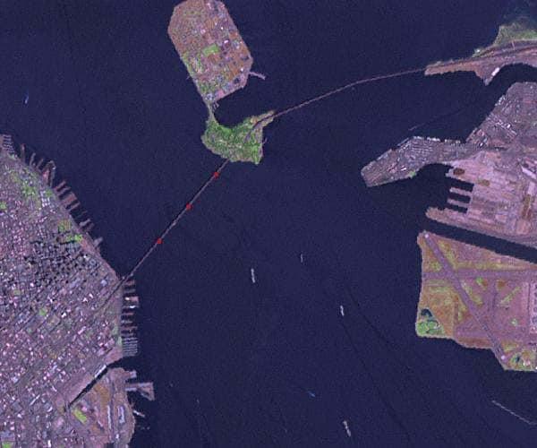 Cosco Busan Hits the Bay Bridge, Causing Oil Spill in San Francisco Bay
