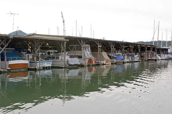 Covered Docks in San Rafael