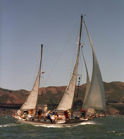 Crew On Sailboat