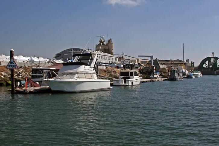 Dock at Sea-Power Marine