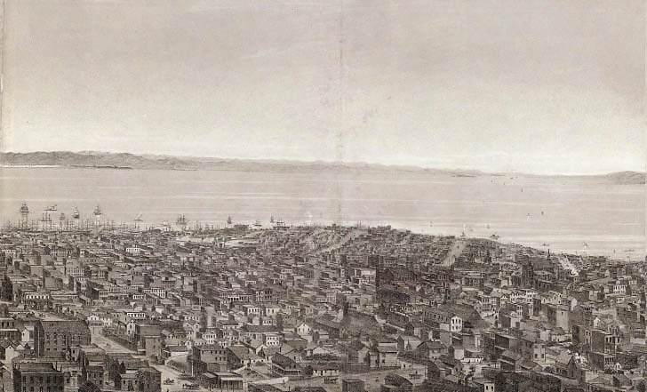 Early View North-East from Russian Hill