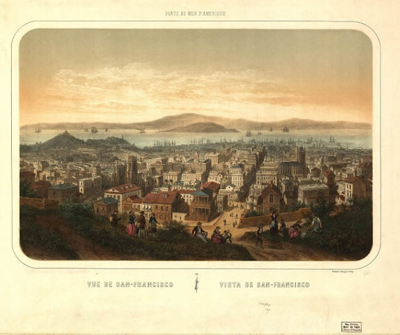 Early View Over San Francisco