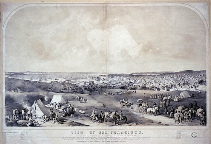 Early View of San Francisco