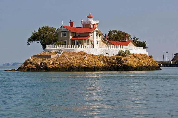 East Brother Island, Where the Lighthouse is Now a Bed and Breakfast Inn