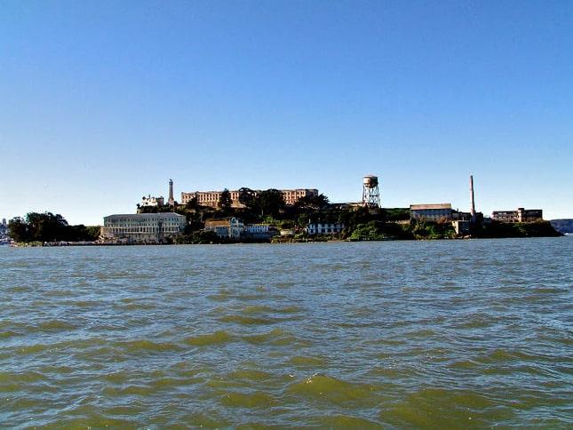 East Side of Alcatraz