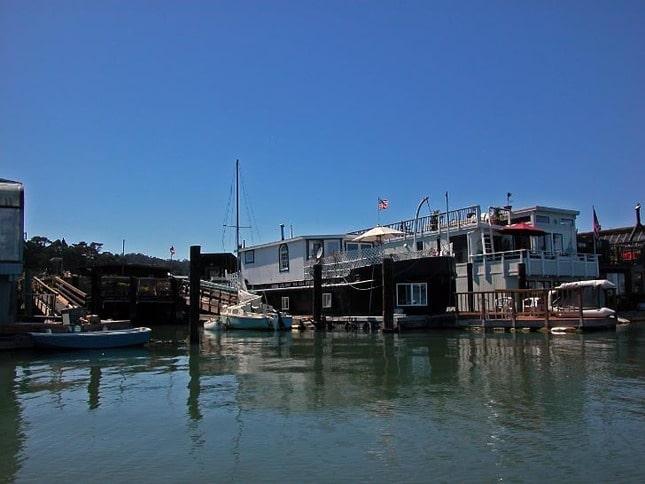 Eclectic Sausalito Houseboats