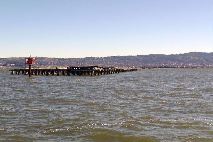End of the Old Berkeley Pier