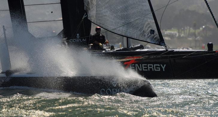 Energy Team AC45 Racing Across SF Bay