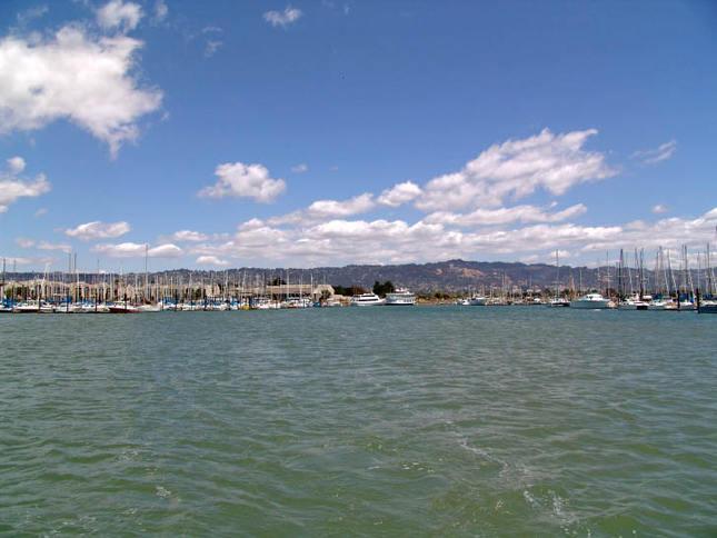 Entering the Berkeley Marina