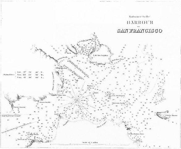 Entrance to San Francisco Harbor