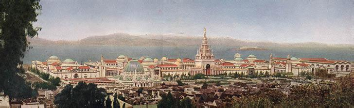 Exhibit Palaces at Panama Pacific Exposition