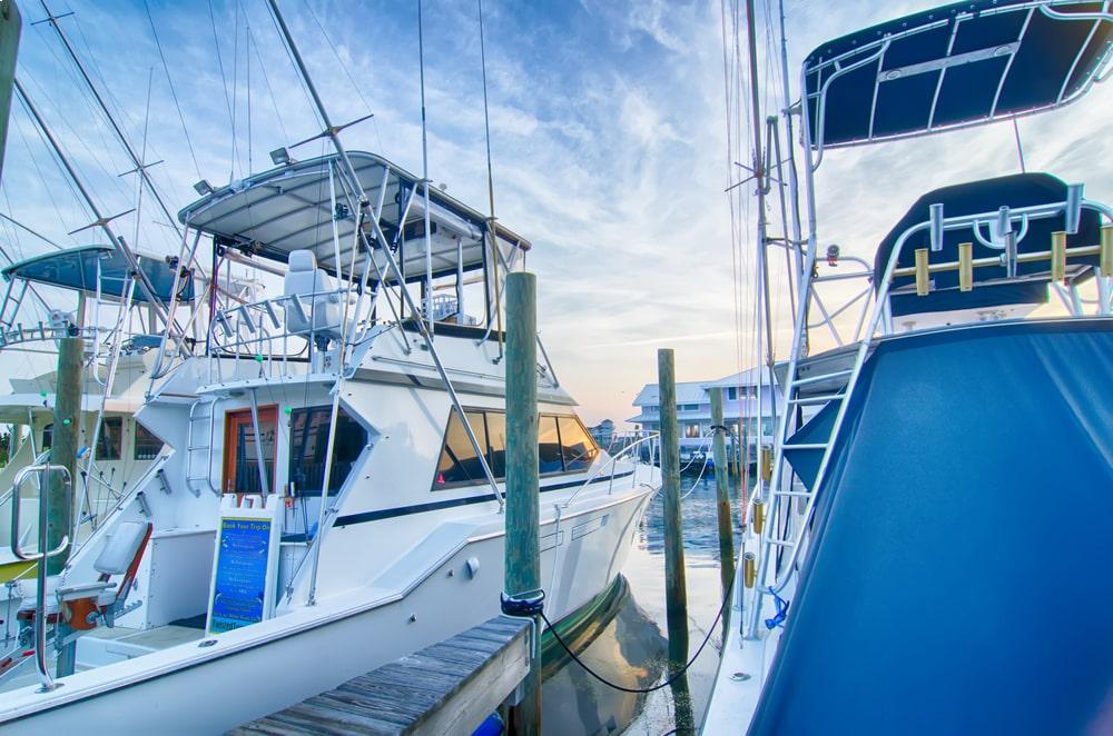 Charter fishing boats Sausalito