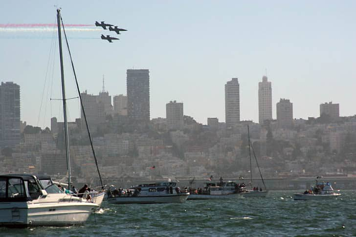 Fleet Week Flyby