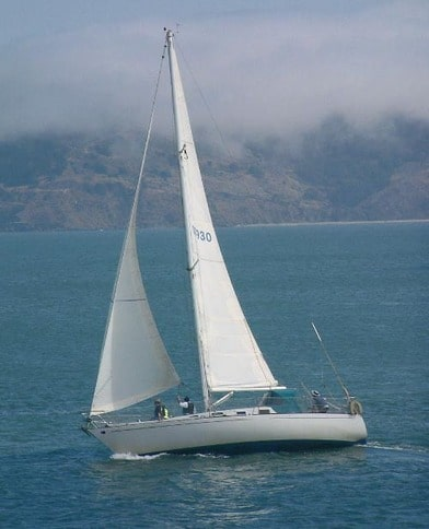 Flying Tiger Sailboat