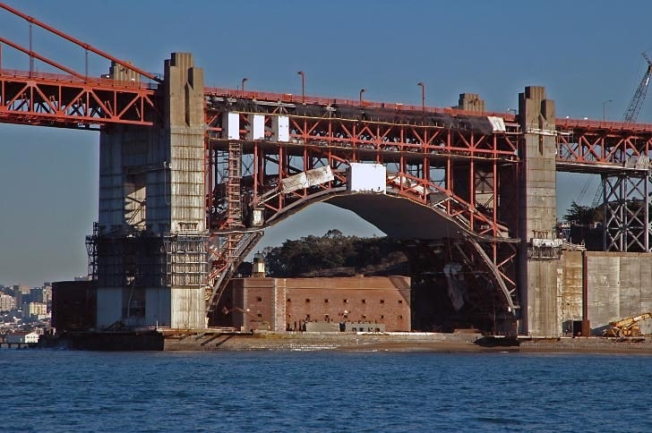 Fort Point from the West