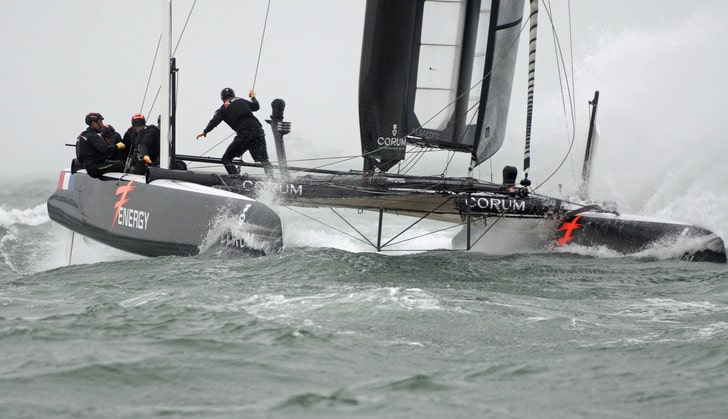 France's Energy Team Sails Off